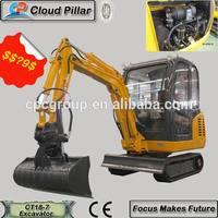 Carter 1.8 ton Hydraulic crawler chinese mini excavator for sale