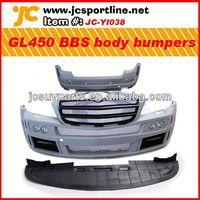 GL class body kit for Mercedes Benz GL450 pu bodykits auto bumper skirts