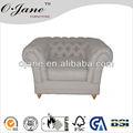 高品質2014年フレンチスタイルバックスクロールつの座席df-1816布張りのソファ