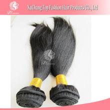 human unprocessed virgin brazilian hair extension silky straight wave hair weft natural hair