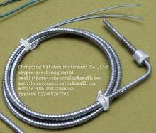Adjustable Bayonet Spring Thermocouple Sensor K Type