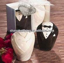 bride and groom salt and pepper shaker