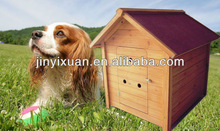 Large dog crate with ventilation holes in the door / pet house / dog cage
