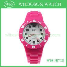 2013 trendy women watch silicone
