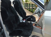 new zealand sheep fur skin car seat cover for sale