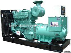 Super silent type yuchai 180kw diesel engine generator set