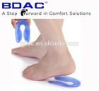 shoe heel pad/gel heel cushion silicone heel grip