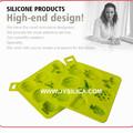 2013 projeto o mais novo partido frutas silicone ice cube bandeja