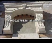 Cantera Stone Mantel