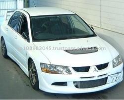 Mitsubishi Lancer Evolution 8 Japanese sport car made in Japan