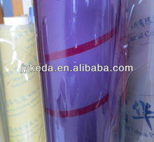 pvc plastic film /pvc transparent plastic film in roll
