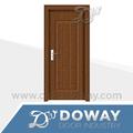 Mais recente projeto econômico portas interiores de madeira, mdf da porta do pvc, porta do quarto