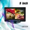 Quad Function 9 inches camera video splitter(LM-090Q-B)