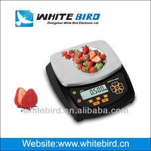 échelle de poids numérique, w31, balance alimentaire, protection ip66, l'approbation oiml, rs232c