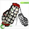 Golf bag stand attachment