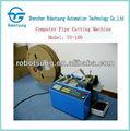 Vollautomatische schaumstoff schneidemaschine, gummiband scherblockmaschine
