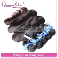 100% Malaysian body wave #1b human hair weave purple remy hair
