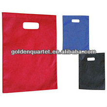 pp non woven bag with die cast handle (BSCI and social audit factory)