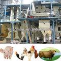 hot vente materiel agricole machine de vache feed pellet ligne de production