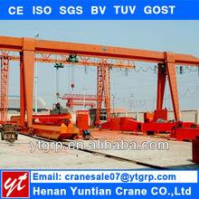 Electric Hoist Single Beam Mobile Gantry Overhead Cranes For External Use