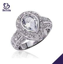 2013 fashion wholesale 925 silver diamond ring
