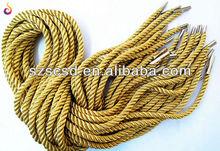 Gold Metallic handle rope