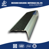 Anodized aluminium stair trim, stair tread nose