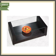 2013 new style cheap tempered glass wall mounting acrylic tv stand