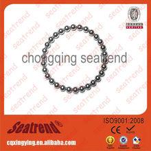 Hot sale magnetic silicone ion sports balance bracelet