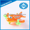 Kids toy plane pull string cartoon plane toys