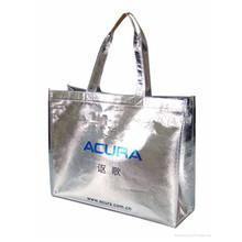 aluminum lamination non woven handle shopping tote bag