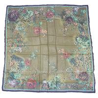 2014 chinese silk scarf fashion