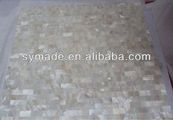 River shell white fashion mosaicCeramic Mosaic