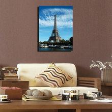 Charming Paris Eiffel Tower Canvas Printing for House
