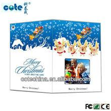 1.8 to7 inch TFT LCD custom music+video+photo greeting card