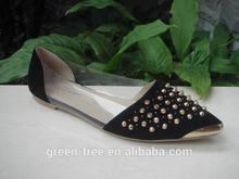 Ongles en métal de décoration mode élégante pompes chaussures