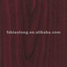 Pvc wood grain laminate sheet for kitchen cabinet skins