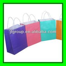 biodegradable material printing logo kraft paper cheap cloth shopping bags