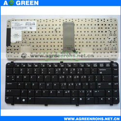 Laptop keyboard for hp Compaq 6531 black us