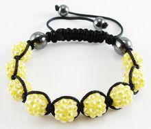 Hot sale adjustment shamballa bracelet