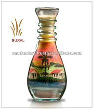 Rural Sand Bottles - Glass Crafts & Sand Art