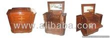 Vine Bar Wooden Solid Folding Cabinet
