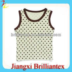dot pattern sleeveless band t shirt printing india