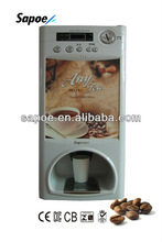 Factory! Most popular coin operated coffee vending machine with CE approval