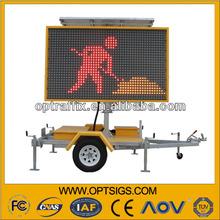 LED Full Matrix Display Board Led With 12V Solar Power Supply