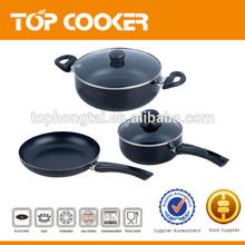 5Pcs Prestige Aluminium Non-stick Cookware Set