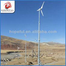 5000W green power solar and wind hybrid system