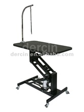 Hydraulic Height adjust Grooming Table with wheels