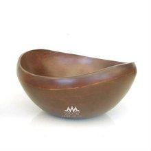 Bowls Mango Wood Plain Color Fruit Bowl