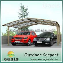5.5m*3.0m open style garden car garage